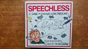 Speechless  board game.  by BV Leisure 1990s
